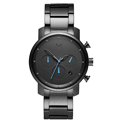 MVMT Chrono Gunmetal Herren Uhr Armbanduhr Edelstahl MC02-GU