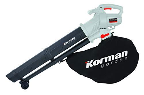 Korman garden - Aspirador triturador soplador eléctrico 3000W – 45L(Ref:600401)