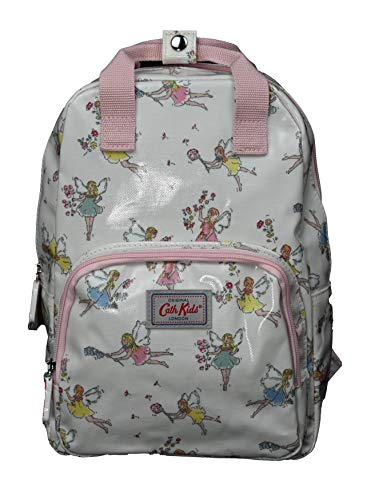 Cath Kidston Medium Rucksack Backpack Garden Fairies in Oyster Shell Oilcloth