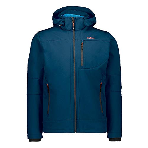 CMP Herren Giacca Softshell Con Tecnologia Climaprotect Wp 7.000 Jacke, Blue Ink/River, 50