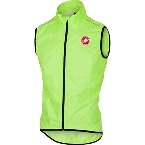castelli Squadra Vest, Gilet Sportivo Uomo, Yellow Fluo, 3XL