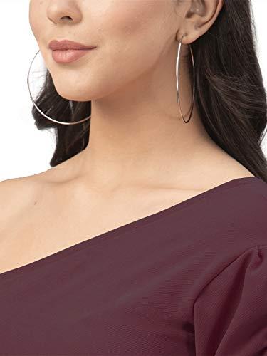 SIRIL Women's Lycra Knitted Wrap Dress