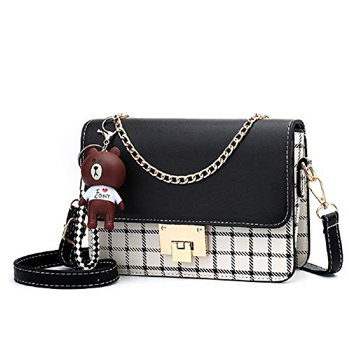 【MATERIAL】: High quality PU leather crossbody bag shoulder purses handbags; Fashionable and durable. 【FEATURES】: The corssbody bag comes with a long removable shoulder strap, unique ornaments and gold tone hardware, Show elegant lady charm. Perfect g...