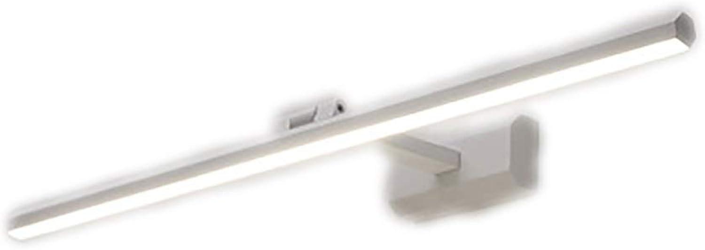 Geführtes Spiegelscheinwerferbadezimmer modernes Spiegelkabinettbadezimmerbadezimmerverfassungsspiegellampe Schminktischlampe (Farbe   B-A(40cm))