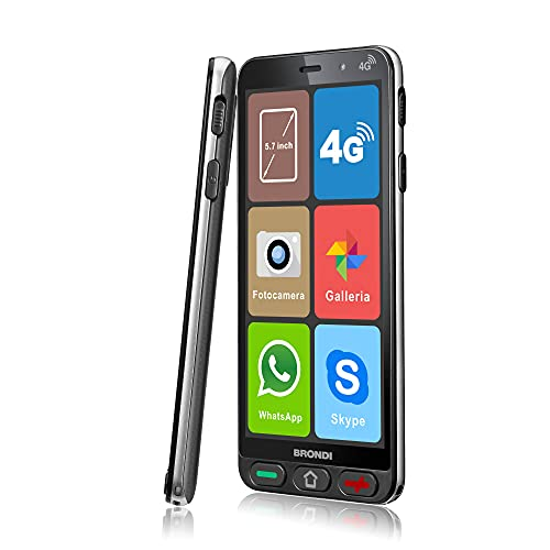 Smartphone Brondi Amico Smartphone S Nero 5.7  Smartphone Dual Sim