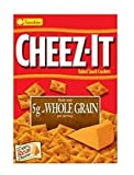 Sunshine Cheez-It Whole Grain Baked Snack Crackers 12.4 oz. Box (Pack of 2)