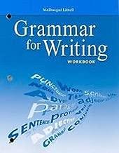 McDougal Littell Literature: Grammar for Writing Workbook Answer Key Grade 10