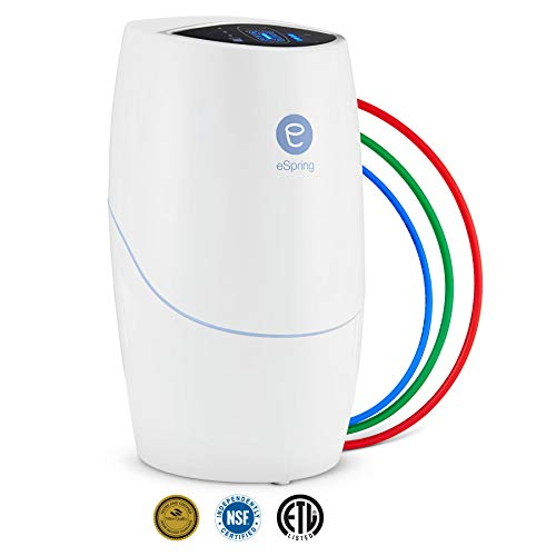 eSpring Water Purifier Below the Counter with Auxiliary Faucet