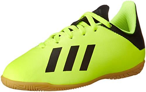 adidas Unisex-Erwachsene X Tango 18.4 in J Futsalschuhe, Gelb (Amasol/Negbás/Amasol 001), 38 2/3 EU