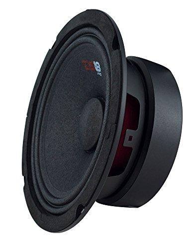 "DS18 PRO-GM8 Loudspeaker - 8"", Midrange, Black Steel Basket, 580W Max, 190W RMS, 8 Ohms - Premium Quality Audio Door Speakers for Car or Truck Stereo Sound System (1 Speaker)"