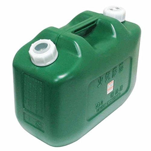 北陸土井工業 日本製 Japan 軽油缶10L (消防法適合品) 【まとめ買い8缶セット】