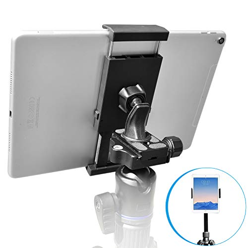 Sturdy Tablet and Phone Tripod Mount for iPad Samsung Tablet Cell...