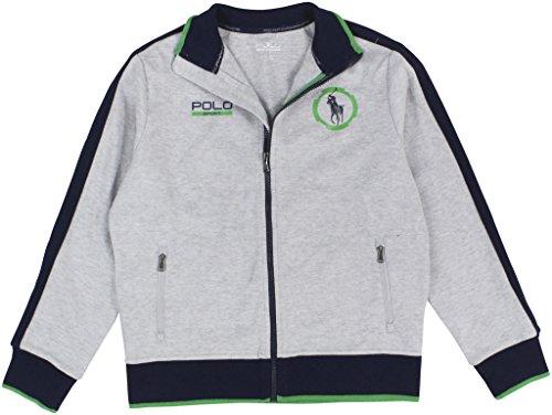 Polo Sport Ralph Lauren Jungen Jacke mit Reißverschluss, Baumwoll-Mischgewebe, Größe M (38-40)