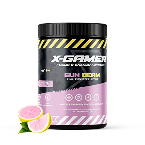 X-Gamer X-Tubz - Gaming Booster poeder - Shake It Yourself - 600 g (60 Servings) (Sun Beam)