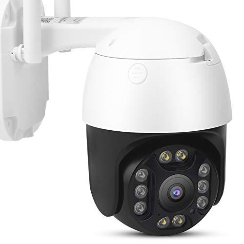 Cámara de Vigilancia Cámara IP Cámara de Seguridad 1080P WiFi Cámara De Seguridad IP Domo Resistente A La Intemperie Visión Gran Angular Visión Nocturna Cámara Inteligente De Detección De Movimiento P