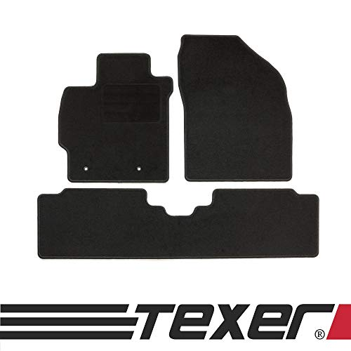 CARMAT TEXER Textil Fußmatten Passend für Toyota Auris I Bj. 2007-2012 Basic