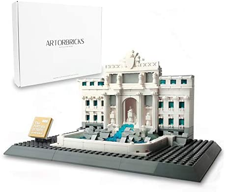 ArtorBricks Architectural Fontana di Trevi Large Collection Building Set Model Kit and Gift product image