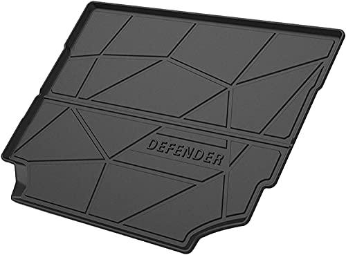 Coche Goma Alfombrilla maletero para Land Rover Defender 2020 2021, Antideslizante Dust-proof Interior Protection Accesorios/Ideal para Perro Mascotas
