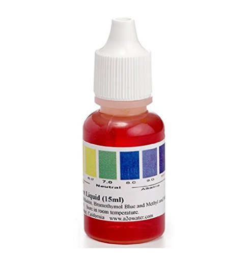 THINK ALKALINE A2O Water - Made in USA, Water pH Test Liquid (WHT/100-125 Tests)