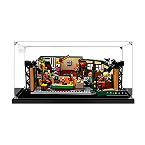 Vitrina de Acrílico para Lego 21319 Ideas Central Perk Friends, Display Case Vitrinas para Colecciones Modelismo (Solo Vitrina) (3mm)
