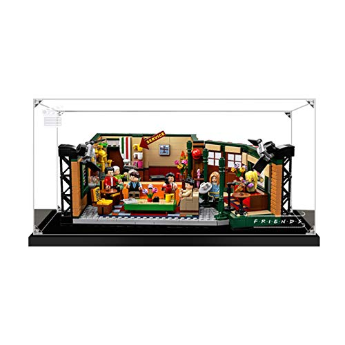 Vitrina de Acrílico para Lego 21319 Ideas Central Perk Friends, Display Case Vitrinas para Colecciones Modelismo (Solo Vitrina) (2mm)