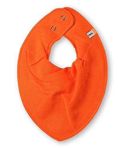 1402 Scarf bib -dribble tight -solid 365 Orange