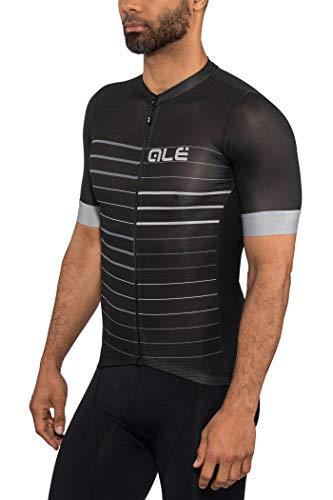 Alé Cycling Solid Ergo SS Jersey - Maillot de ciclismo de manga...