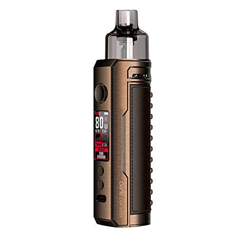 VooPoo Drag X 80W Pod System Kit Farbe Bronze Knight
