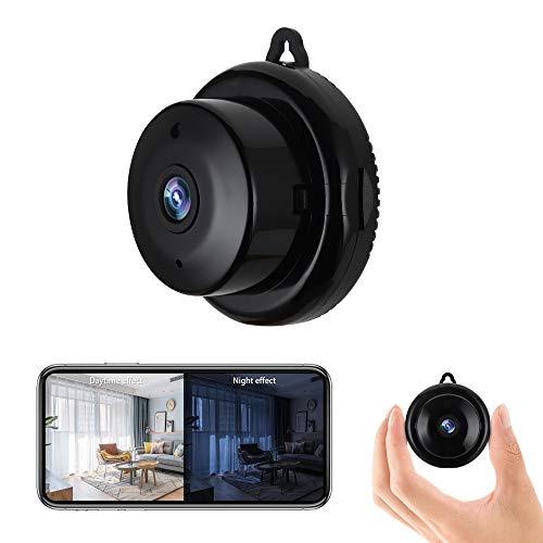 Spy Camera Mini Hidden WiFi Camera Full HD 1080P Covert Security with Night...