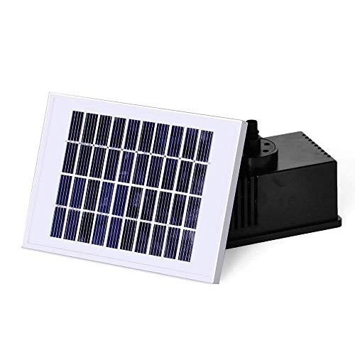 LARS360 Solar Teichpumpe Outdoor Wasserpumpe Solar Springbrunnen Solarpumpen Gartenpumpe für Gartenteich (2W)