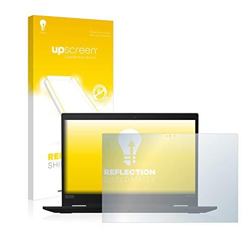 upscreen Entspiegelungs-Schutzfolie kompatibel mit Lenovo ThinkPad X390 Yoga – Anti-Reflex Bildschirmschutz-Folie Matt