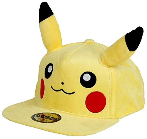 Official Pokémon Pikachu Snapback with Ears