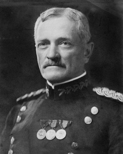 Nueva foto de la Primera Guerra Mundial de 8 x 10: el general estadounidense John J. Pershing