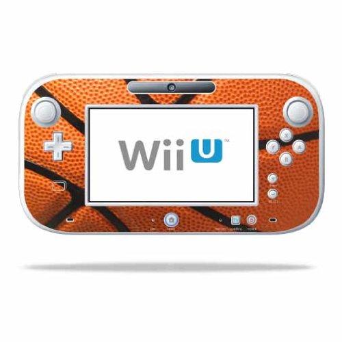 MightySkins Skin Compatible with Nintendo Wii U Gamepad Controller wrap Sticker Skins Basketball