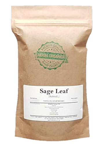 Herba Organica Echte Salie Blad - Salvia Officinalis L / Sage Leaf (50g)
