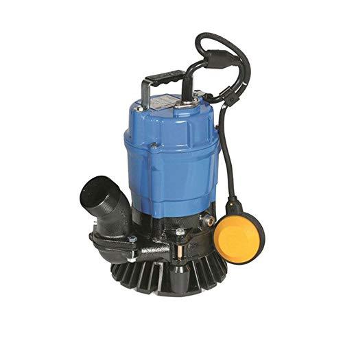 Tsurumi HSZ2.4S-62 Semi-Vortex Submersible Trash Pump with Agitator, 1/2 HP by Tsurumi