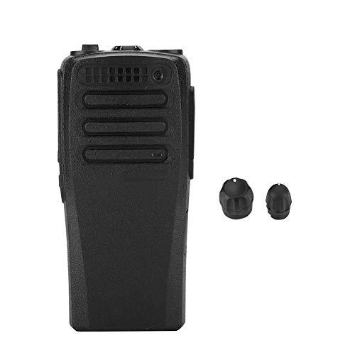 Socobeta Carcasa Protectora de Walkie Talkie Shell con perillas para Radio bidireccional Compatible con XIR P3688 DP1400 DEP450