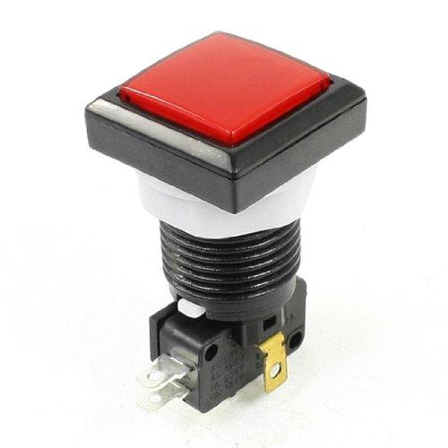 sourcingmap® spel machine rode kop Momentary 5P vierkante knop microschakelaar SPDT de