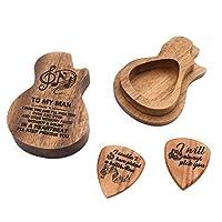 ギタープレクトラム 撥 収納ボックス付き ギターアクセサリー 楽器部品 全2スタイル - スタイル2