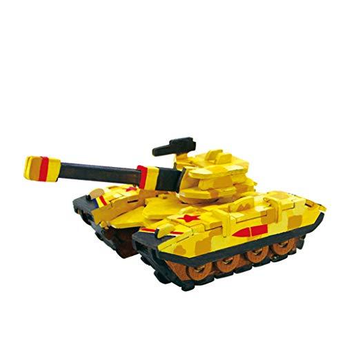 AmyGline Puzzles Erwachsene Kinder Tank Sprühfarbe Farbmalerei Modell Puzzle Spiel Creative Spaß DIY Puzzlespiel Rätsel Spielzeug Geschenk Lernspielzeug Bilder