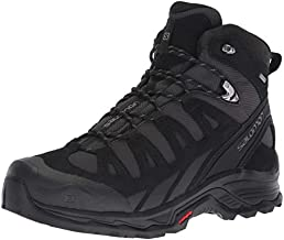 Salomon Men's Quest Prime GTX Backpacking Boots, PHANTOM/Black/Quiet Shade, 10