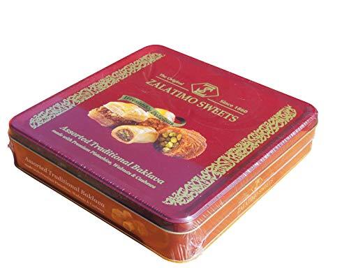 Zalatimo Sweets - Edle Baklawa Mischung nach arabischer Art aus der Manufaktur (800g)