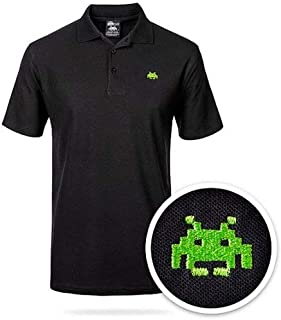 ABC Space Invaders Polo Shirt – XLARGE