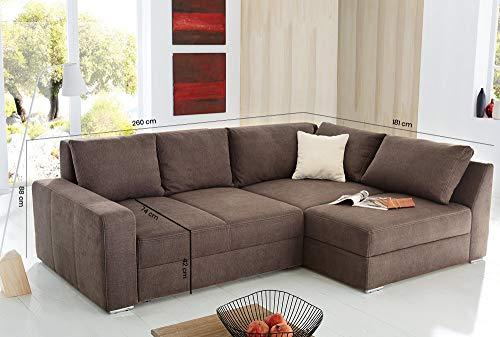 Ecksofa Couch –  günstig lifestyle4living Bild 5*