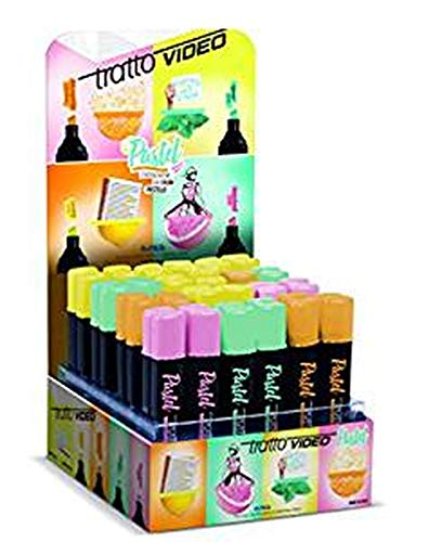 Evidenziatore Pastel Tratto Video colore Menta 1pz