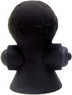 HEALLILY 1 par ventosa de pezón eléctrica ventosa de succión de mama ventosa clitorial masajeador de cuerpo eléctrico juguete de coqueteo para mujeres (negro)