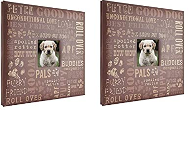 MCS MBI 13.5x12.5 Inch Good Dog Pet Theme Scrapbook Album with 12x12 Inch Pages