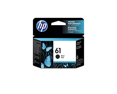 HP 61 inktcartridge, zwart (CH561WN#140)