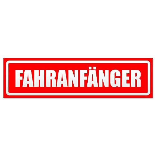 Kiwistar Fahranfänger invertiert Magnetschild Schild magnetisch
