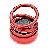 Mabor - Deodorante per auto, per aromaterapia, a energia solare, con doppio anello, sospeso per interni auto, per la decorazione degli interni